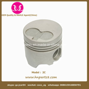 2c Engine Piston 13101-64090 OEM Quality 2CT Pistons for Toyota pictures & photos