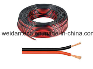 100m Red/Black 2X0.50mm2 Loudspeaker Wire Cable pictures & photos