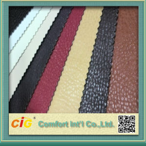 Semi PU Leather for Chair Russia Brazil Peru pictures & photos