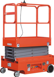 Full Electric Aluminium Aerial Working Platform (ASF0.3-1.8) pictures & photos