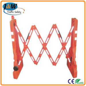 Competitive Price Portable Plastic Extensible Road Barrier for Traffic Safety pictures & photos