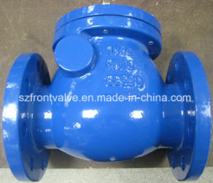 Cast Iron DIN Flanged Swing Check Valve pictures & photos