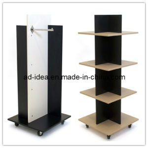 Wooden Floor Display Rack. Wooden Floor Display Stand (MDF-0452) pictures & photos