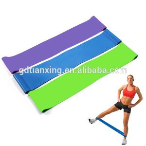 Exercise Resistance Loop Bands Fitness Stretch Elastic Lateral Band Set of 4 New pictures & photos