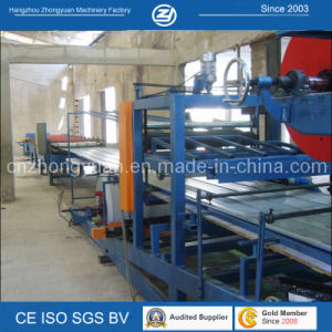 Roof Wall Sandwich Panel Line with ISO pictures & photos