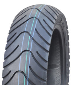 Durable Tubeless Motorcycle Tire 120/70-12, 130/70-12, 130/60-13