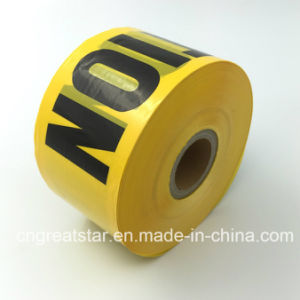 PE Warning Tape ′caution′ Printed for Disposable