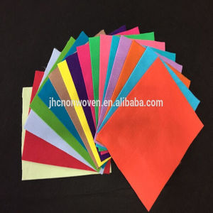 Needle Punched Poyester Colored Nonwoven Felt Sticker