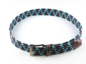 New Fashion Ployester Elastic Braided Belts for Jeans pictures & photos