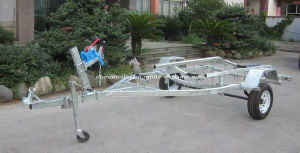 Hot DIP Galvanized Boat Trailer with Wobble Rollers pictures & photos