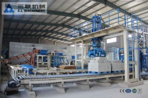 Qft12-15 Fully Automatic Concrete Block Machine Production Line