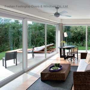 New Design Aluminum Profile Used Sliding Glass Door Sale (FT-D80) pictures & photos