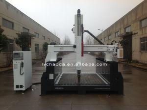 3D Foam Cutting Machine / 4 Axis CNC Milling Machine for EPS, Styrofoam, PU, Polystyrene, Polyurethane Foam pictures & photos