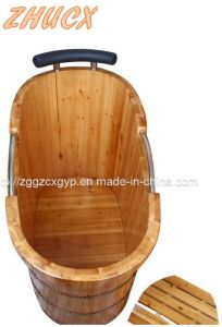 High Quality SPA Bathtub/Wooden Bathtub/Bathroom Apa Bathtub Cx-BS02 pictures & photos