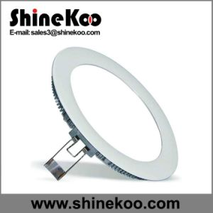 High Quality 6W Round Ceiling Down Light LED Panel Light pictures & photos