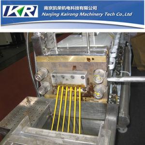 Tse-40 Diamter 41mm Color Masterbatch Twin Screw Granulator Machinery pictures & photos