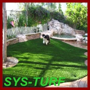20mm Height Artificial Grass with U Shape Yarn pictures & photos