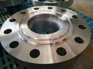 ANSI 1500 Weld Neck Rtj Stainless Steel Pipe Fittings Flange pictures & photos