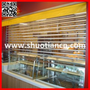 Automatic Remote Crystal Roller Shutter Door (ST-003) pictures & photos