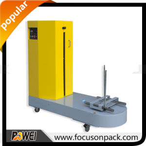 Automatic Stretch Film Airport Baggage Wrapping Machine pictures & photos