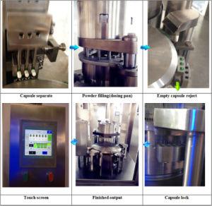 Made in China Medicine Pellet Auto Capsule Filling Machine pictures & photos