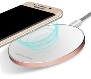 New Arrival Metal Qi Wireless Charger for Samsung Galaxy S6 / S6 Edge/Nexus/iPhone/HTC pictures & photos