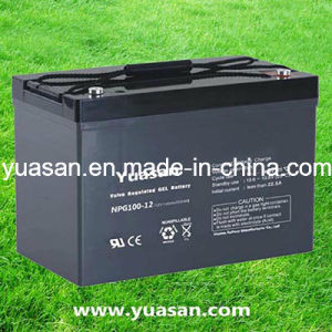Professionally Manufacturing 12V100 Lead Acid Gel Battery--Npg100-12