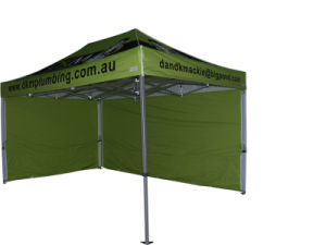 Hot Sell Costomized Pop up Folding Tent with Side Wall pictures & photos