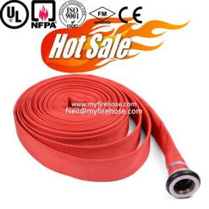 8 Inch Canvas Fire Hydrant Hose Material Is PU, Used Fire Hose pictures & photos