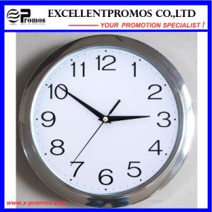 29cm Diameter Logo Printing Round Plastic Wall Clock (EP-Item11) pictures & photos