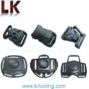 Professional Plastic Injection Molding for Safety Belt Buckles pictures & photos