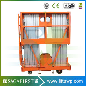 6m-12m Electric Upright Aluminum Alloy Ladder for Light Maintenance pictures & photos