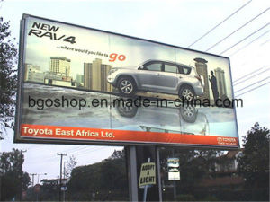 PVC Laminated Digital Printing Backlit Banner (500dx500d 18X12 510g) pictures & photos
