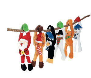 Christmas Hanging Toys Plush Hanging Toys Holiday Stuffed Toys pictures & photos