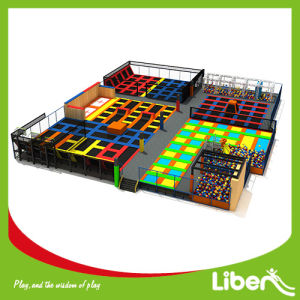 Liben Large Indoor Trampoline Park with Foam Pit pictures & photos