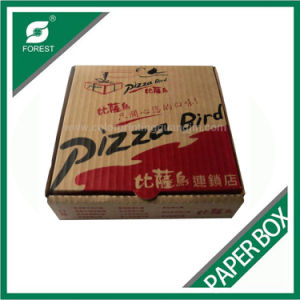 Shanghai Supplier Custom Full Colour Paper Pizza Box pictures & photos