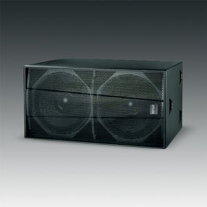 "Dual 18"" Powerful Subwoofer for Stage (F-218S) pictures & photos"