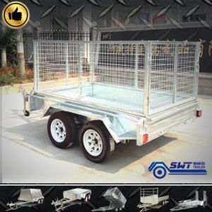 Machinery Transport Farm Cage Trailer Cost Price Competitive pictures & photos