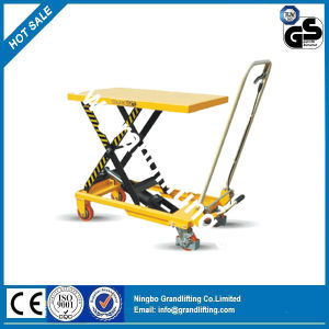 Hand-Hydraulic Table Truck pictures & photos