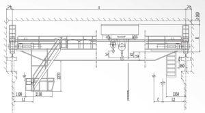 Qd Type Bridge Crane with Hook pictures & photos