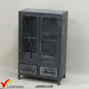 Top Quality Retro Antique Metal Floor Cabinet pictures & photos