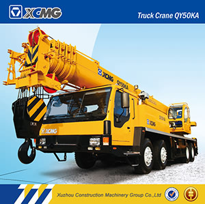 XCMG Official Manufacturer Qy50k 50ton Small Crane for Truck pictures & photos
