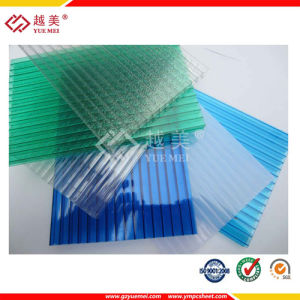 6mm Colored PC Hollow Sheet pictures & photos