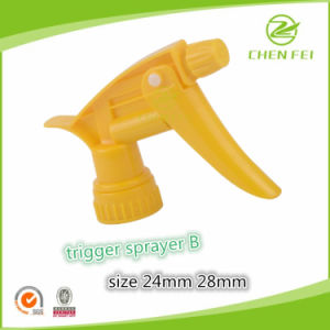 High Quality Screw Trigger Sprayer Pump for Bottle Usage pictures & photos