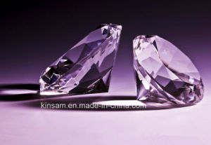Beautiful Purple Crystal Diamond for Wedding Gift pictures & photos