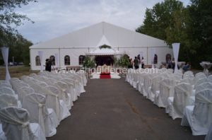 25X50m Big Wedding Tent Marquee Tent with Magnificent Decoration Lining pictures & photos