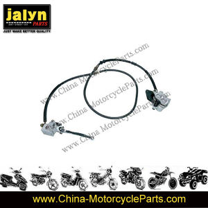Motorcycle Parts Motorcycle Rear Brake System for Gy6-150 pictures & photos