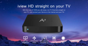 Europe Satellite I View A7 PRO TV Box pictures & photos
