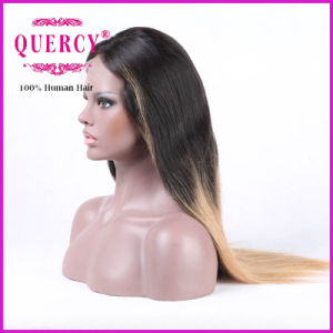 Malaysian Lace Front Wig for Women with Natural Hairline, Straight, All Colors Are Available pictures & photos