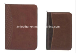 Zip A5 Faux Leather Ring Bound Filofax pictures & photos